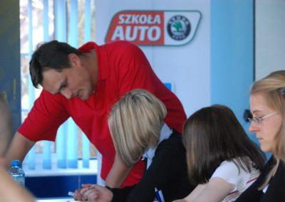 Projekt AUTO START ze Szkołą Auto 2009  46 - Start Poznań