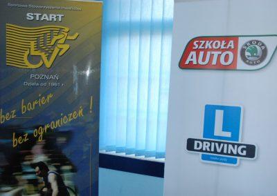 Projekt AUTO START ze Szkołą Auto 2009  50 - Start Poznań