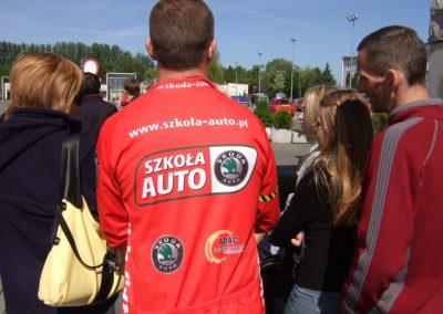 Projekt AUTO START ze Szkołą Auto 2009  54 - Start Poznań
