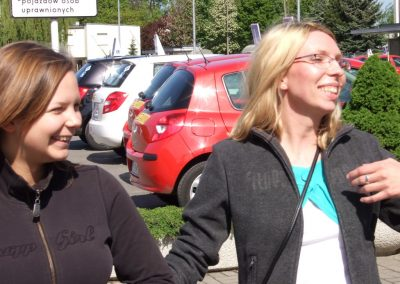 Projekt AUTO START ze Szkołą Auto 2009  55 - Start Poznań