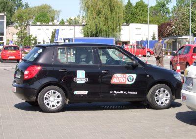 Projekt AUTO START ze Szkołą Auto 2009  57 - Start Poznań