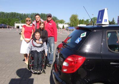 Projekt AUTO START ze Szkołą Auto 2009  61 - Start Poznań