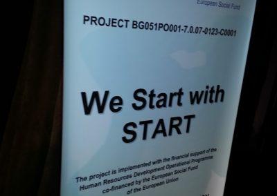 Projekt EU We Start with START- Bułgaria 2014  7 - Start Poznań