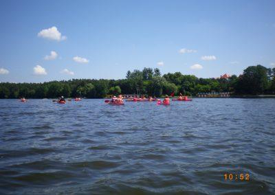 Spływ Kajakowy Jezioro Durowskie 2011  15 - Start Poznań