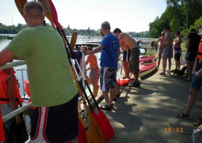 Spływ Kajakowy Jezioro Durowskie 2011  16 - Start Poznań