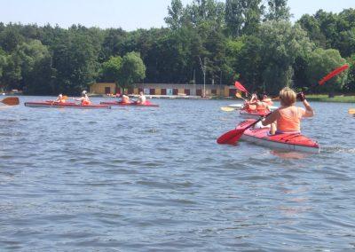 Spływ Kajakowy Jezioro Durowskie 2011  50 - Start Poznań