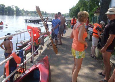 Spływ Kajakowy Jezioro Durowskie 2011  53 - Start Poznań
