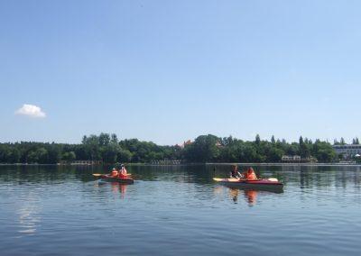 Spływ Kajakowy Jezioro Durowskie 2011  60 - Start Poznań