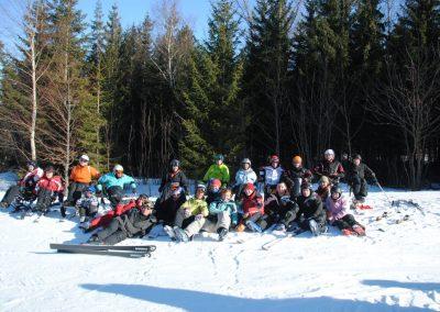 Szkolenie Mono-ski Karpacz 2011  19 - Start Poznań