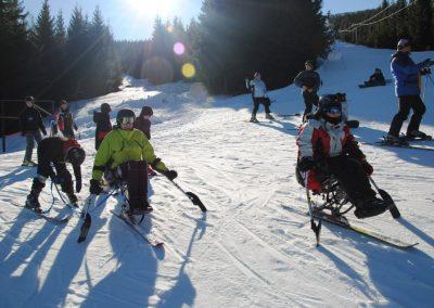 Szkolenie Mono-ski Karpacz 2011 1 - Start Poznań