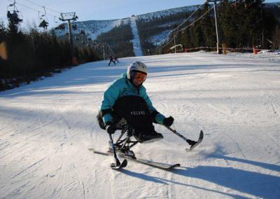 Szkolenie Mono-ski Karpacz 2011  4 - Start Poznań