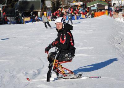 Szkolenie Mono-ski Karpacz 2011 7 - Start Poznań