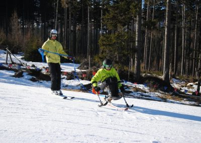 Szkolenie Mono-ski Karpacz 2011  8 - Start Poznań