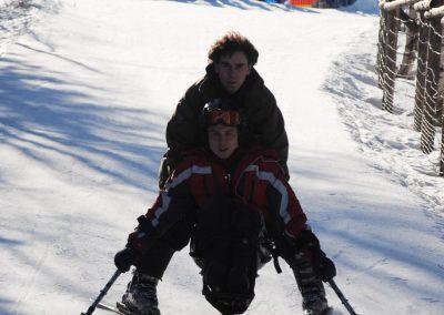 Szkolenie Mono-ski Karpacz 2011 9 - Start Poznań