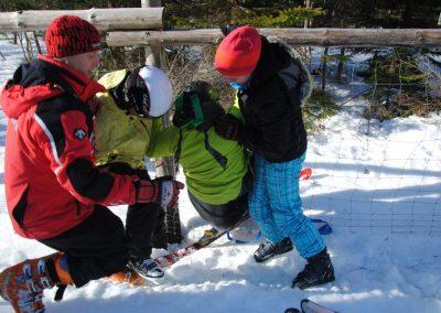 Szkolenie Mono-ski Karpacz 2011 10 - Start Poznań