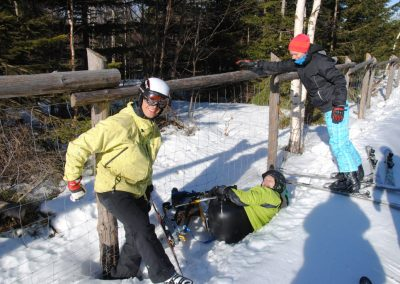 Szkolenie Mono-ski Karpacz 2011 11 - Start Poznań