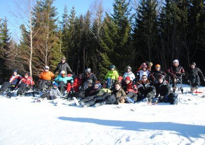 Szkolenie Mono-ski Karpacz 2011 12 - Start Poznań