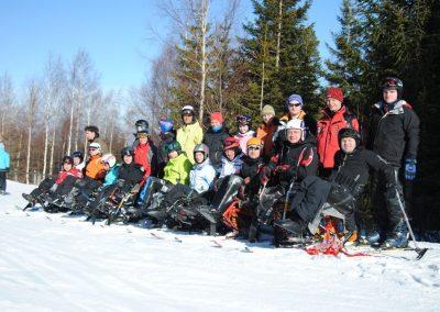 Szkolenie Mono-ski Karpacz 2011  13 - Start Poznań