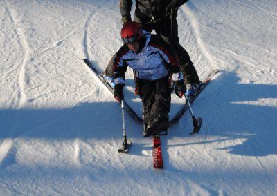 Szkolenie Mono-ski Karpacz 2011 14 - Start Poznań