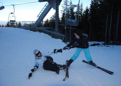Szkolenie Mono-ski Karpacz 2011 15 - Start Poznań