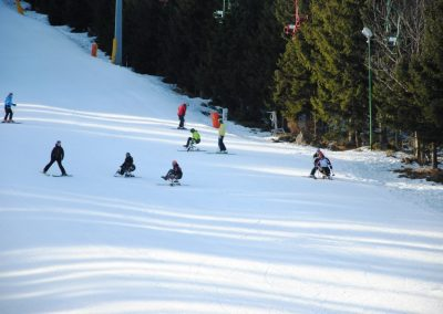 Szkolenie Mono-ski Karpacz 2011  16 - Start Poznań
