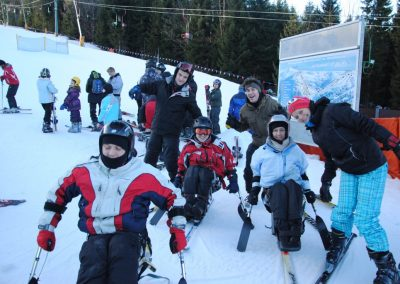 Szkolenie Mono-ski Karpacz 2011  18 - Start Poznań