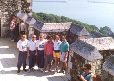 Sztafeta przez kanał La Manche 1994 9 - Start Poznań