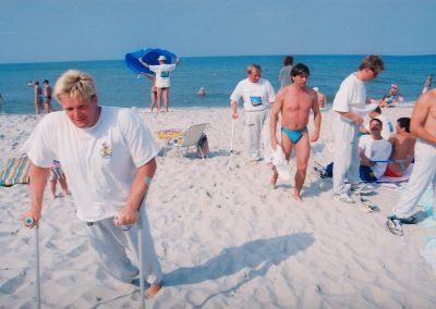 Sztafeta przez kanał La Manche 1994 7 - Start Poznań