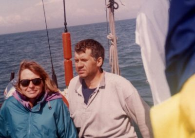 Sztafeta przez kanał La Manche 1994 3 - Start Poznań
