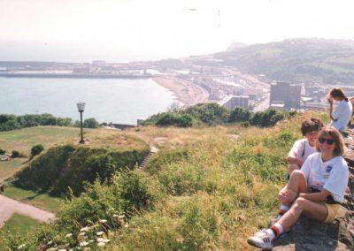 Sztafeta przez kanał La Manche 1994 2 - Start Poznań