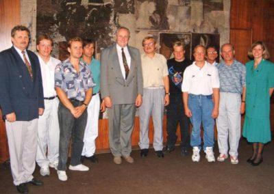 Sztafeta przez kanał La Manche 1994 1 - Start Poznań