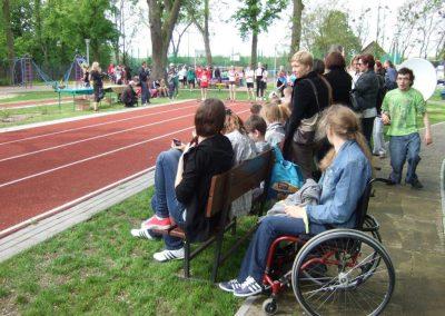 Zawody międzynarodowe niewidomej młodzieży LA OSW Owińska 2013 1 - Start Poznań