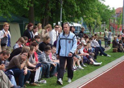 Zawody międzynarodowe niewidomej młodzieży LA OSW Owińska 2013 3 - Start Poznań