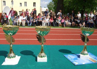 Zawody międzynarodowe niewidomej młodzieży LA OSW Owińska 2013 5 - Start Poznań