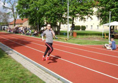 Zawody międzynarodowe niewidomej młodzieży LA OSW Owińska 2013 6 - Start Poznań