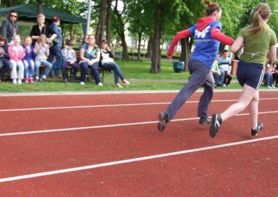 Zawody międzynarodowe niewidomej młodzieży LA OSW Owińska 2013 8 - Start Poznań