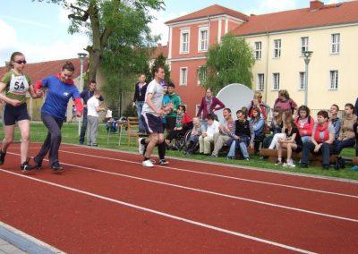 Zawody międzynarodowe niewidomej młodzieży LA OSW Owińska 2013
