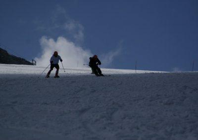 Zgrupowanie kadry Polski Ski Stelvio 2009 1 - Start Poznań