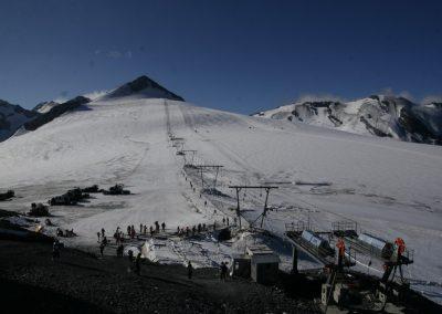 Zgrupowanie kadry Polski Ski Stelvio 2009