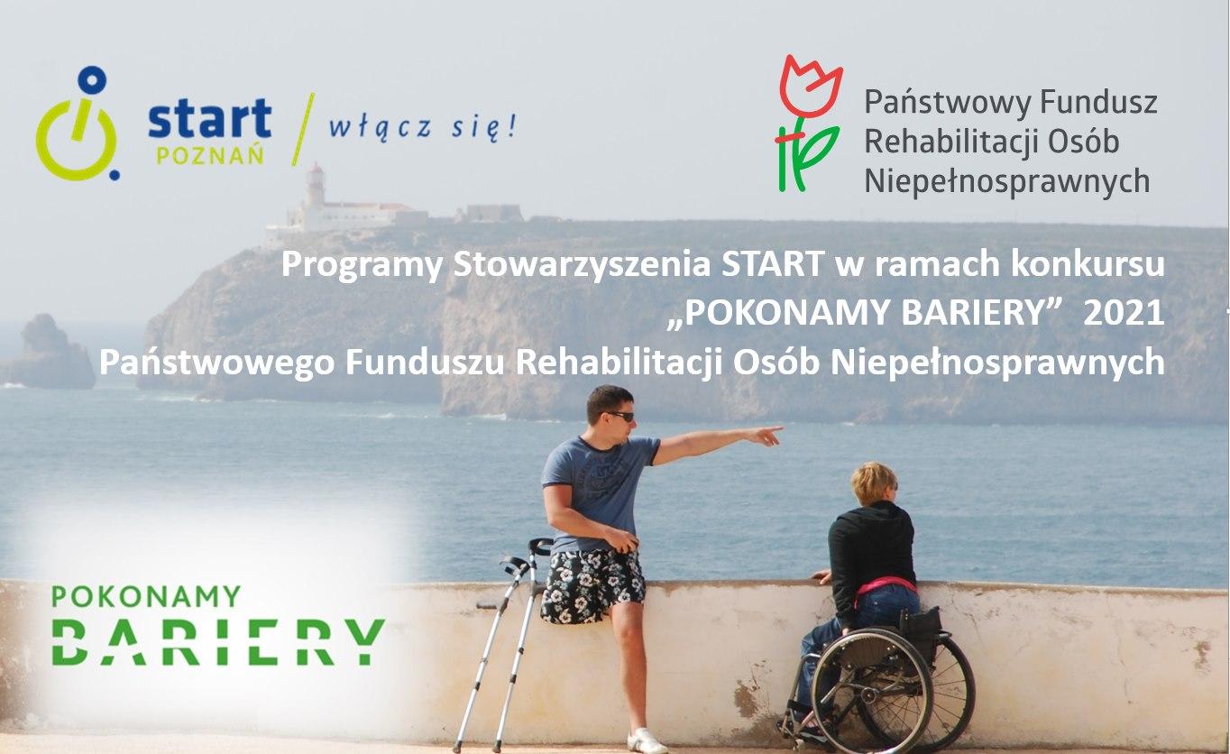 """""""Pokonamy bariery"""" 1 - Start Poznań"""