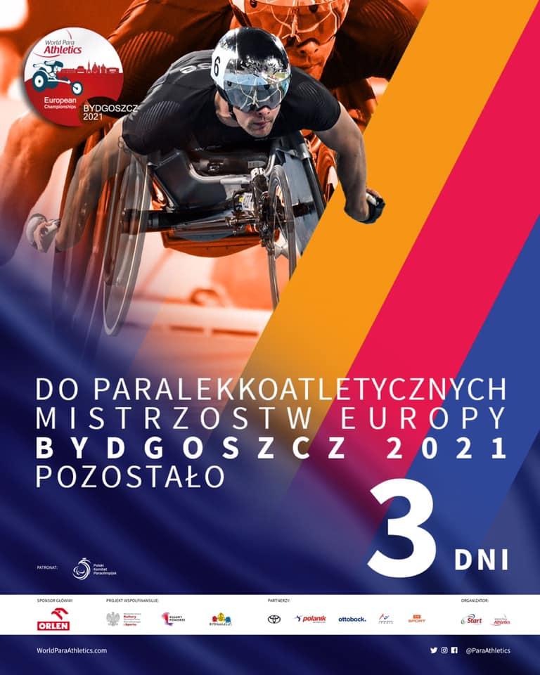 Europejska ParaLekkoatletyka od 1czerwca w Bydgoszczy 1 - Start Poznań