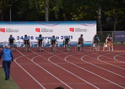Nasi lekkoatleci startowali w Poznań Athletics Grand Prix 2021 na Stadionie POSIR Golęcin !!! 2 - Start Poznań
