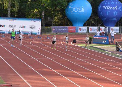 Nasi lekkoatleci startowali w Poznań Athletics Grand Prix 2021 na Stadionie POSIR Golęcin !!! 12 - Start Poznań