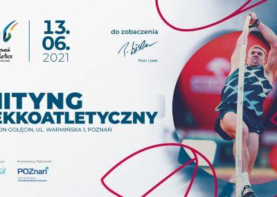 Nasi lekkoatleci startowali w Poznań Athletics Grand Prix 2021 na Stadionie POSIR Golęcin !!! 1 - Start Poznań
