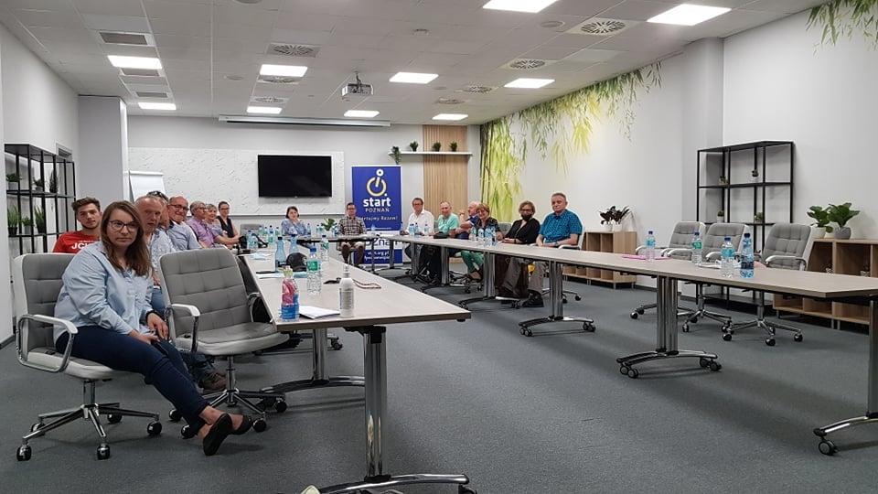 Odbyło się Walne Zgromadzenie Sprawozdawcze SSR Start Poznań, na którym podsumowaliśmy poprzedni rok. 1 - Start Poznań