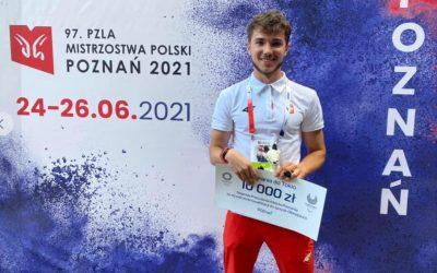 #poznanwspiera paraolimpijczyka Stowarzyszenia START Michała Kotkowskiego