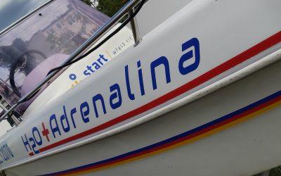 """Motorówa """"H2O+Adrenalina"""" czeka w Wągrowcu na wodowanie🚤"""