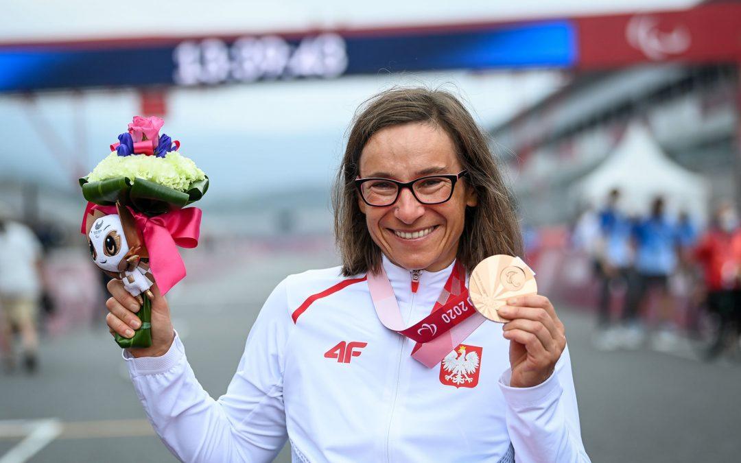Renata Kałuża już z brązowym medalem