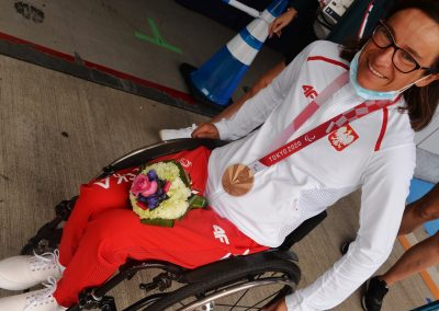 Renata Kałuża zdobyła brąz dla Polski w kolarstwie szosowym 24 - Start Poznań