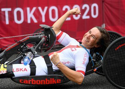 Renata Kałuża zdobyła brąz dla Polski w kolarstwie szosowym 36 - Start Poznań